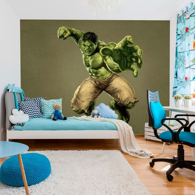 Adesivo Decorativo Fotográfico Kids Hulk F119