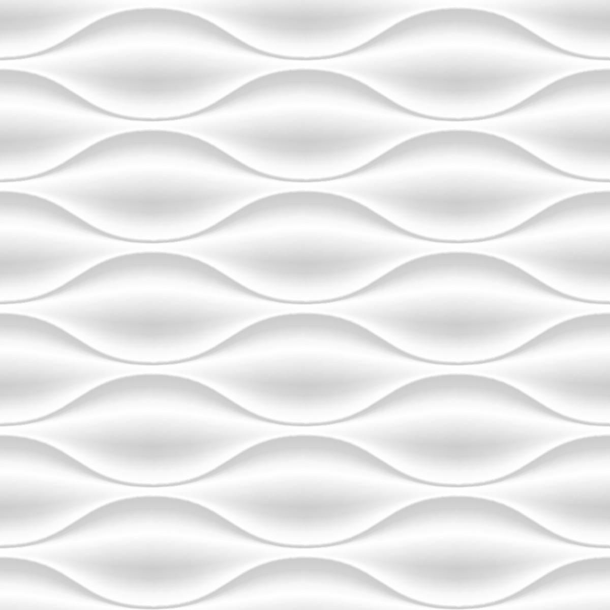Papel de Parede 3D Geométrico Ondulado Zig Zag Adesivo