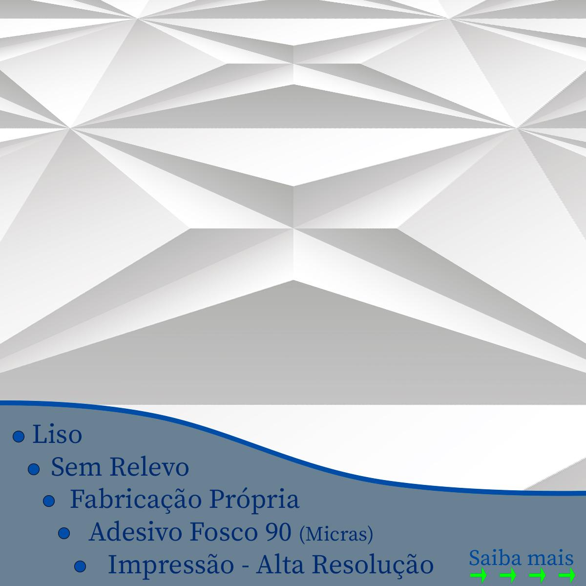 Papel de Parede 3D Geométrico Triângulos Adesivo