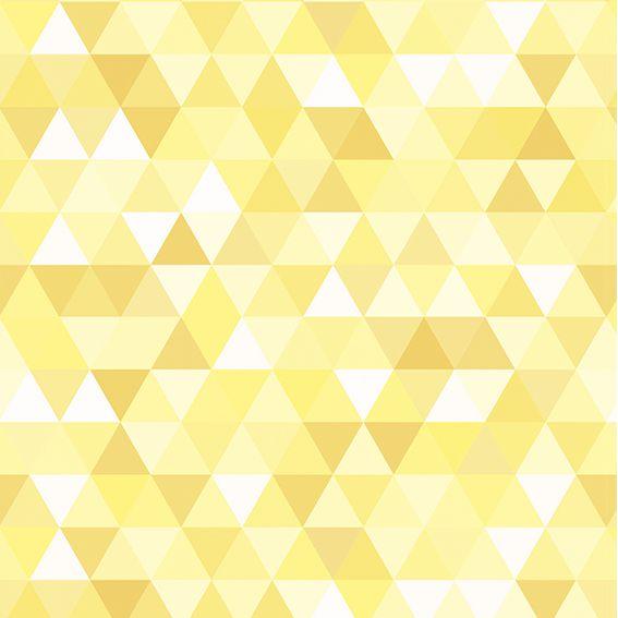 Papel de Parede Adesivo Abstrato Amarelo P108A