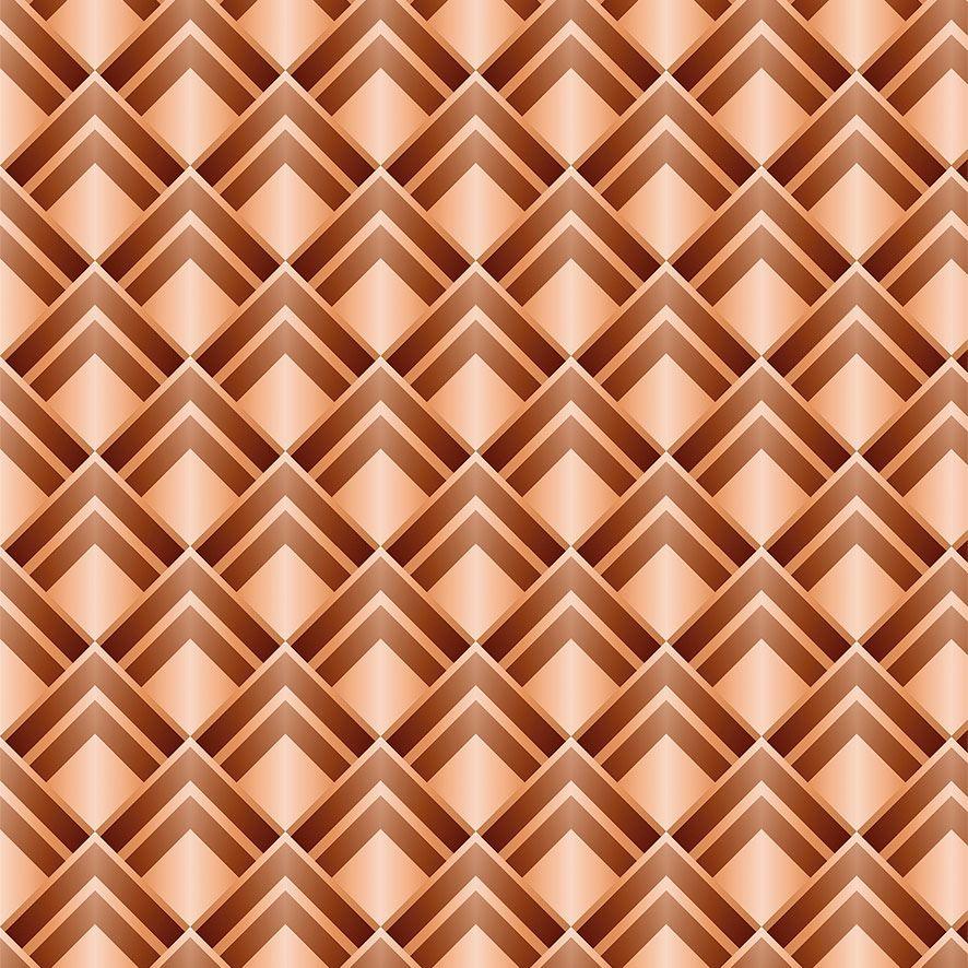 Papel de Parede Abstrato Geométrico Triângulos Adesivo P659