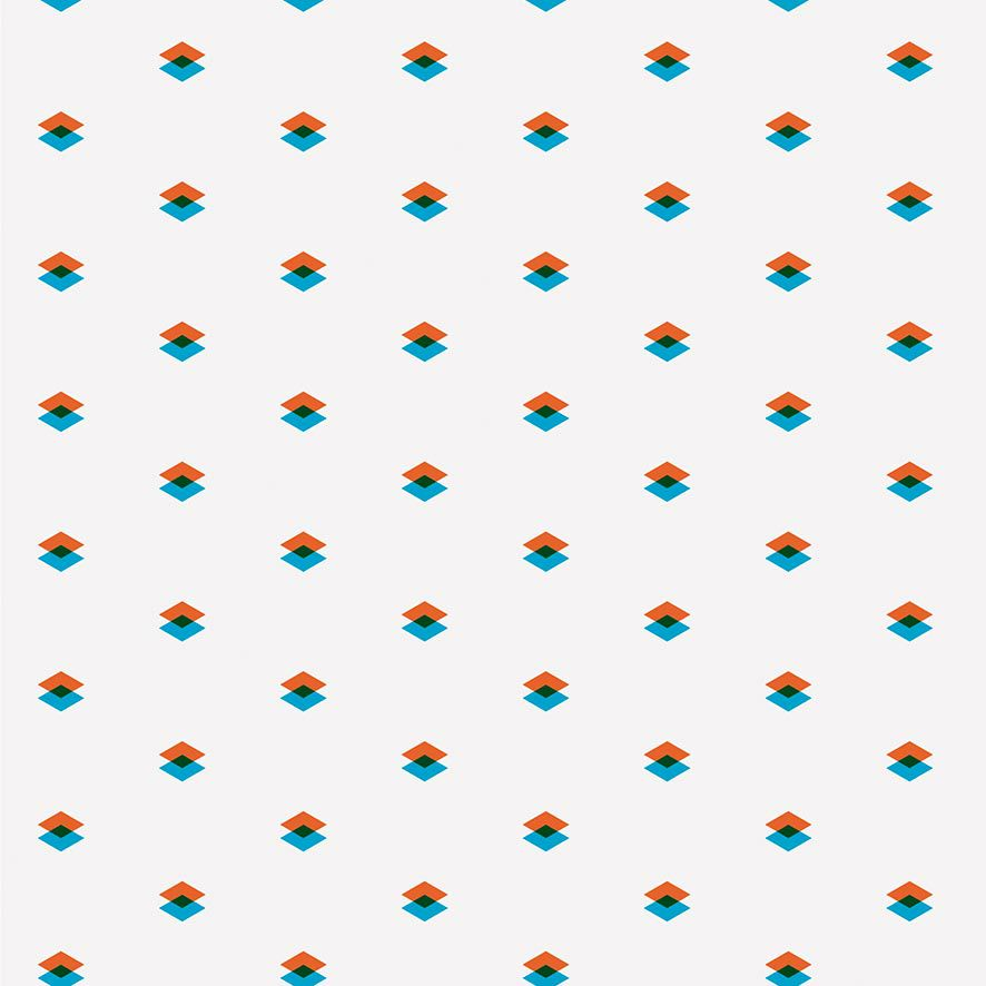 Papel de Parede Abstrato Geométrico Triângulos Adesivo P675