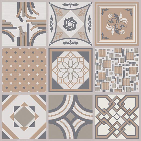 Papel de Parede Azulejo Português Geométrico Adesivo P068