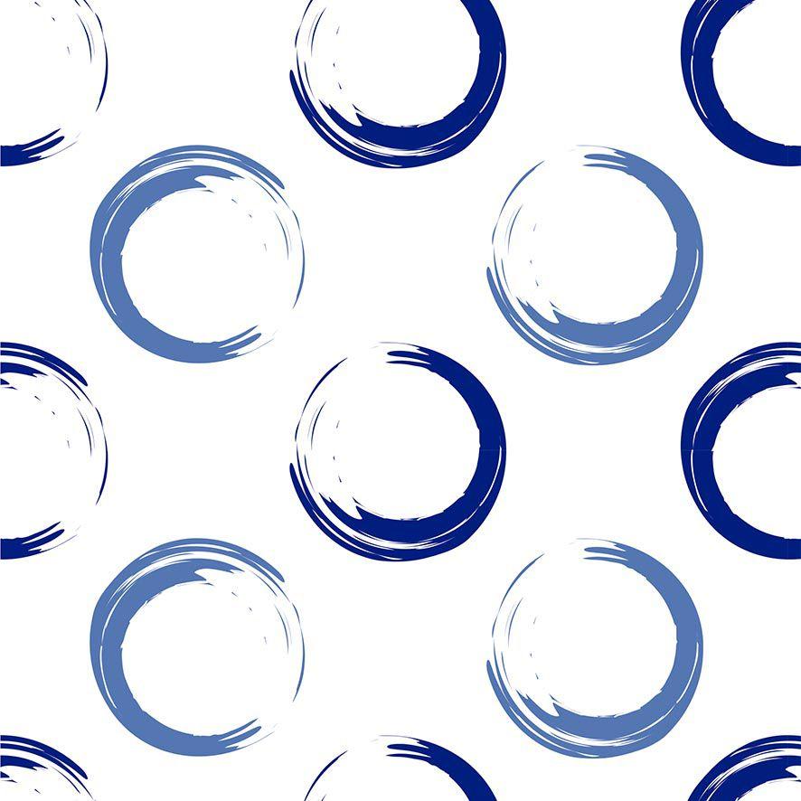 Papel de Parede Círculos Bolas Adesivo P725