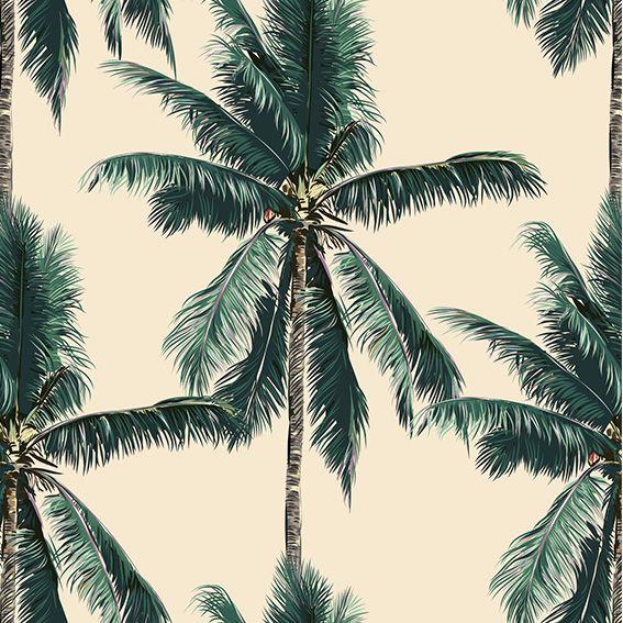 Papel de Parede Coqueiros Tropical Adesivo P336