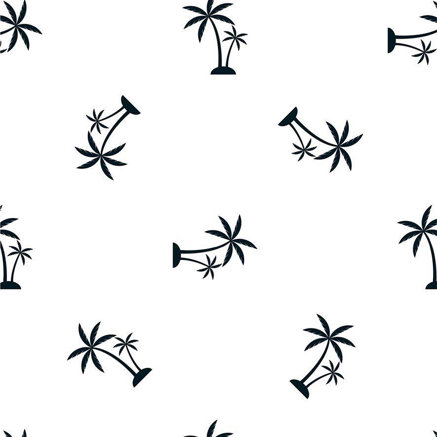 Papel de Parede Coqueiros Tropical Adesivo P672