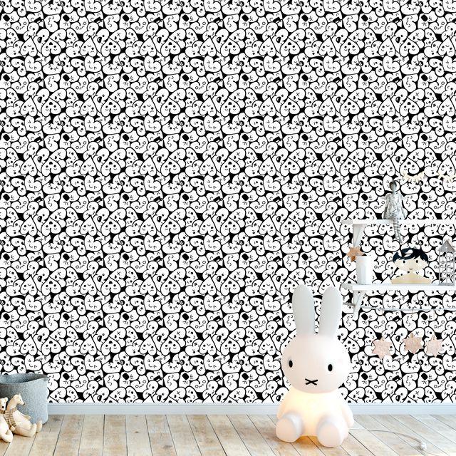 Papel de Parede Corações Emoji Adesivo P399
