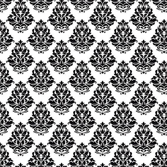 Papel de Parede Damask Realeza Glamour Adesivo P216
