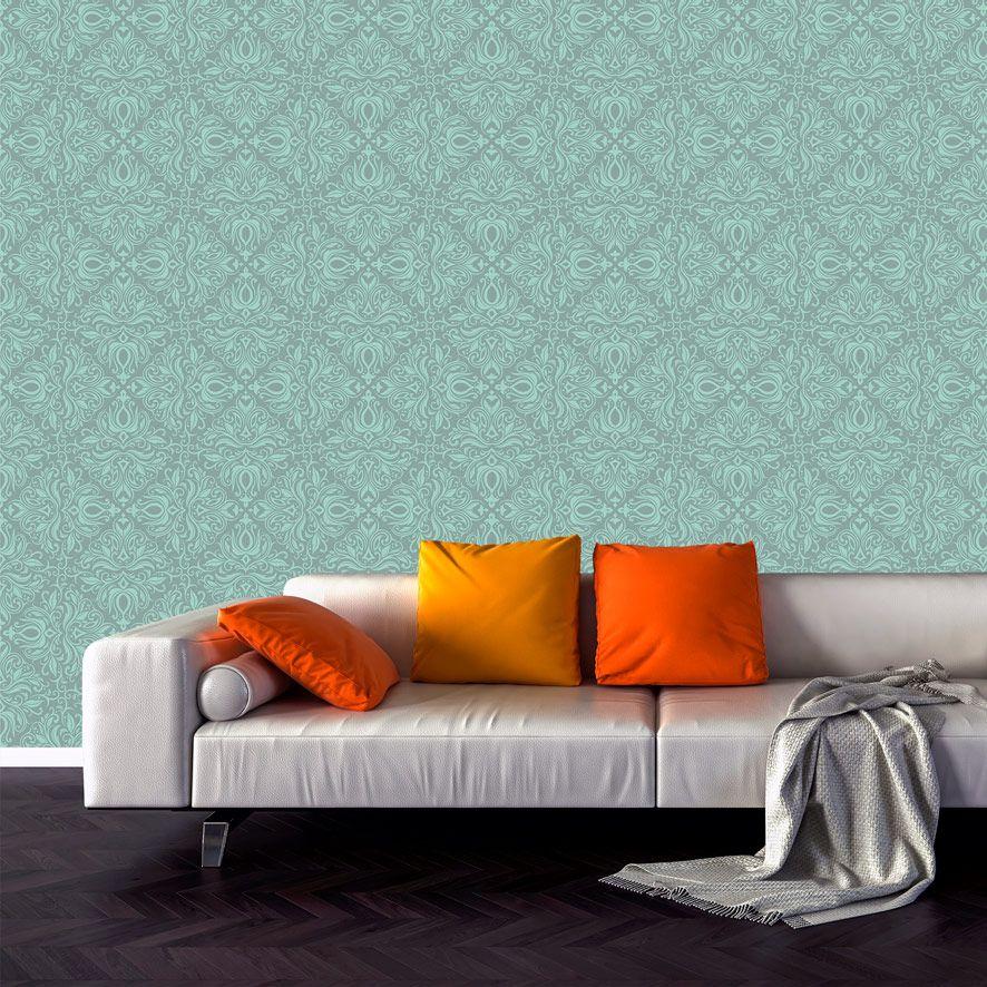 Papel de Parede Damask Realeza Textura Adesivo P654