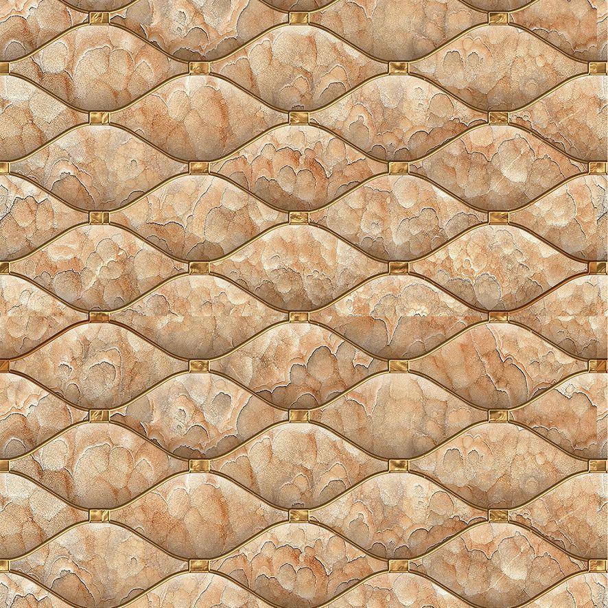 Papel de Parede 3D Pedra Aspecto Estofado Adesivo P566
