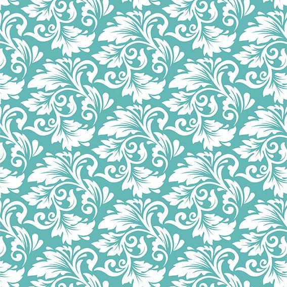 Papel de Parede Floral Arabesco Glamour Adesivo P479
