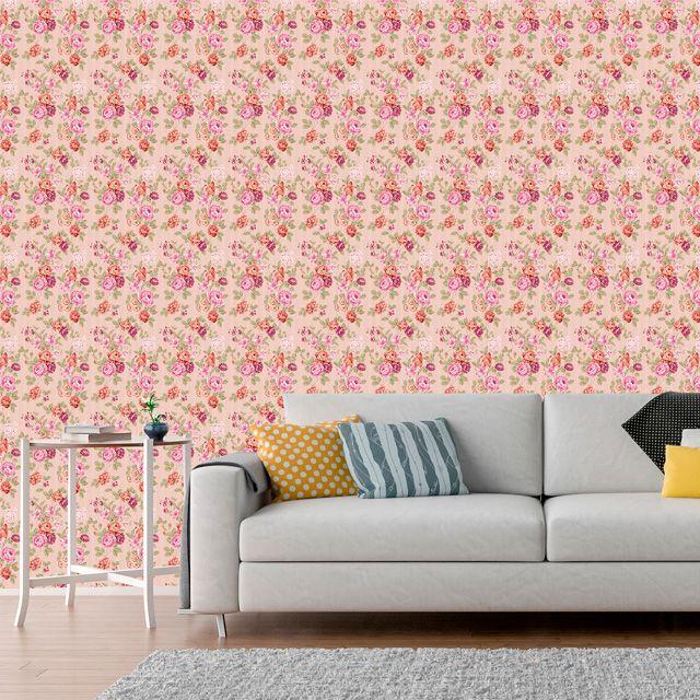 Papel de Parede Adesivo Floral P003