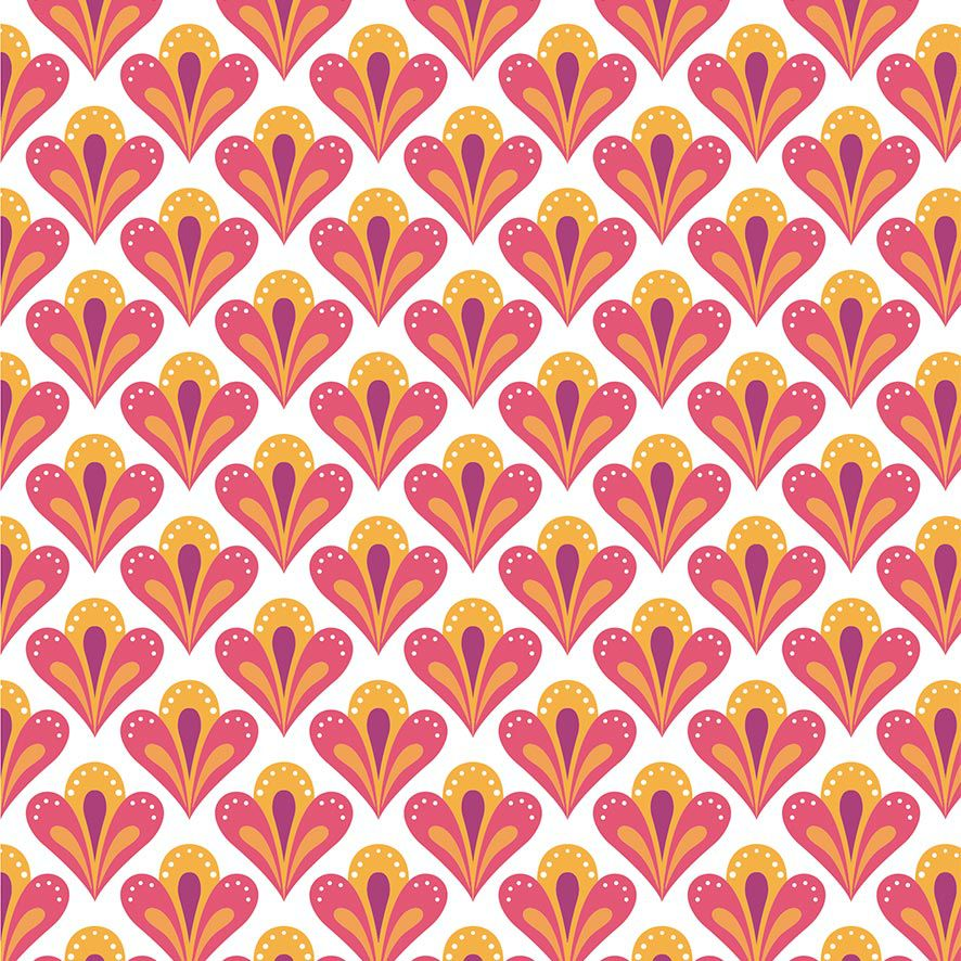 Papel de Parede Adesivo Floral P614