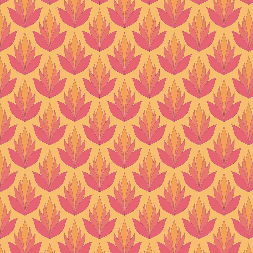 Papel de Parede Adesivo Floral P615