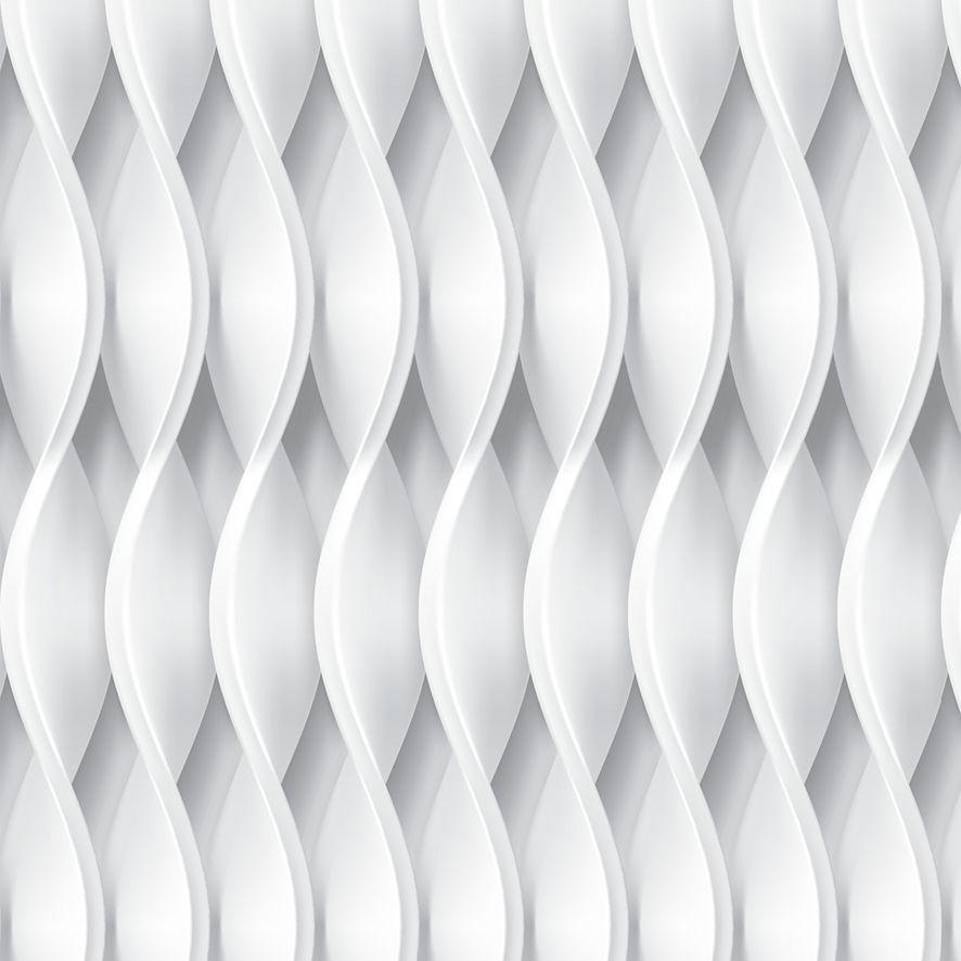 Papel de Parede 3D Geométrico Zig Zag Adesivo P599