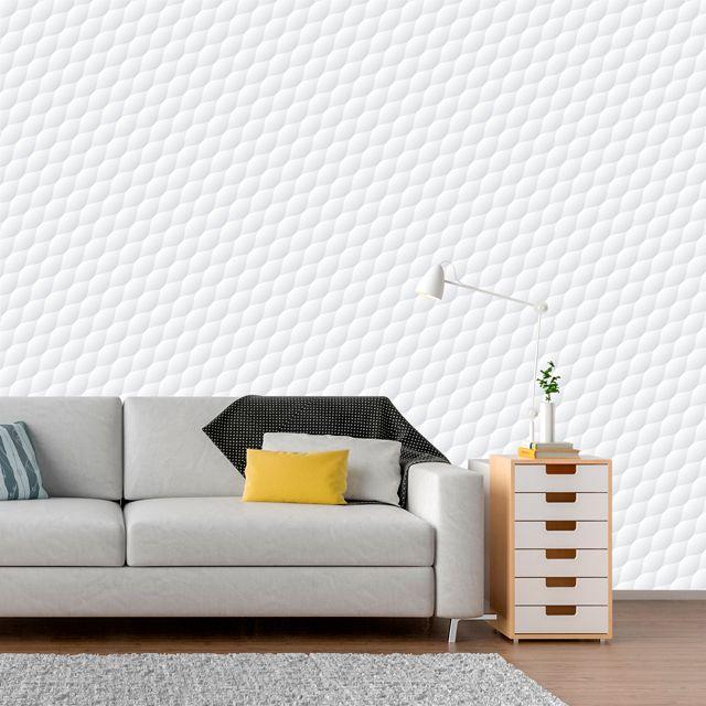 Papel de Parede 3D Geométrico Efeito Bolhas Adesivo P271