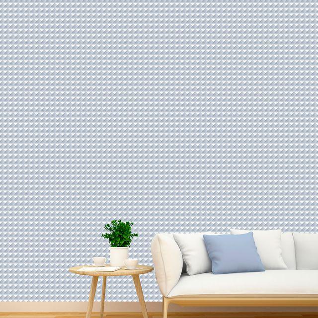 Papel de Parede Adesivo Geométrico 3D P390