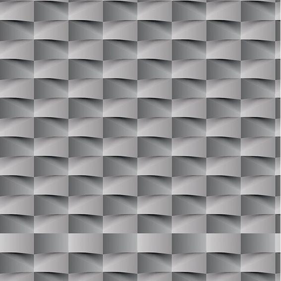 Papel de Parede 3D Geométrico Retângulo Adesivo P409