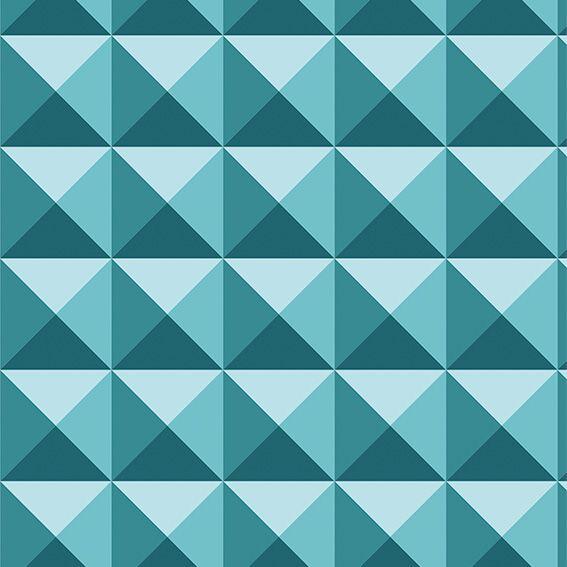 Papel de Parede 3D Geométrico Triângulos Adesivo P494