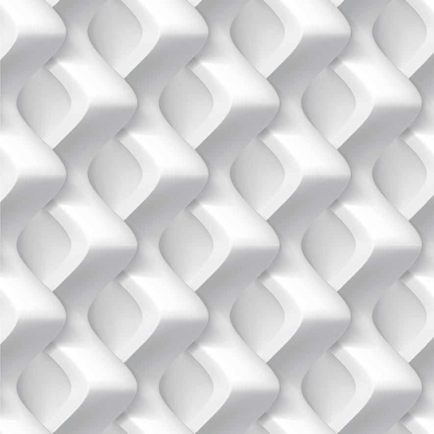 Papel de Parede 3D Geométrico Zig Zag Adesivo P692