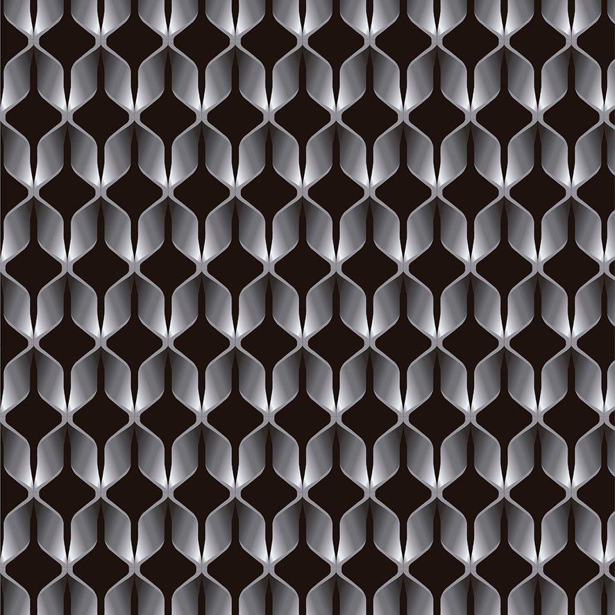 Papel de Parede 3D Geométrico Tubo Adesivo P755