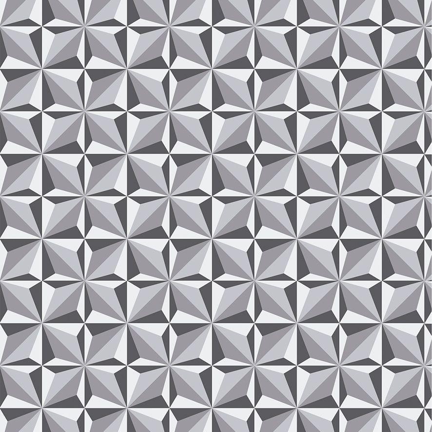 Papel de Parede 3D Geométrico Triângulos Adesivo P587