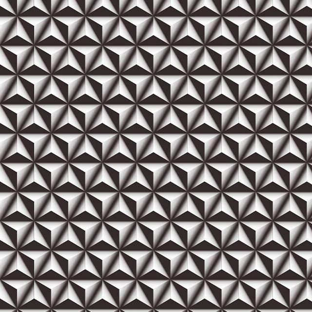 Papel de Parede 3D Geométrico Triângulos Adesivo P597