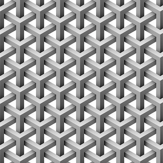 Papel de Parede 3D Geométrico Triângulos Adesivo P183
