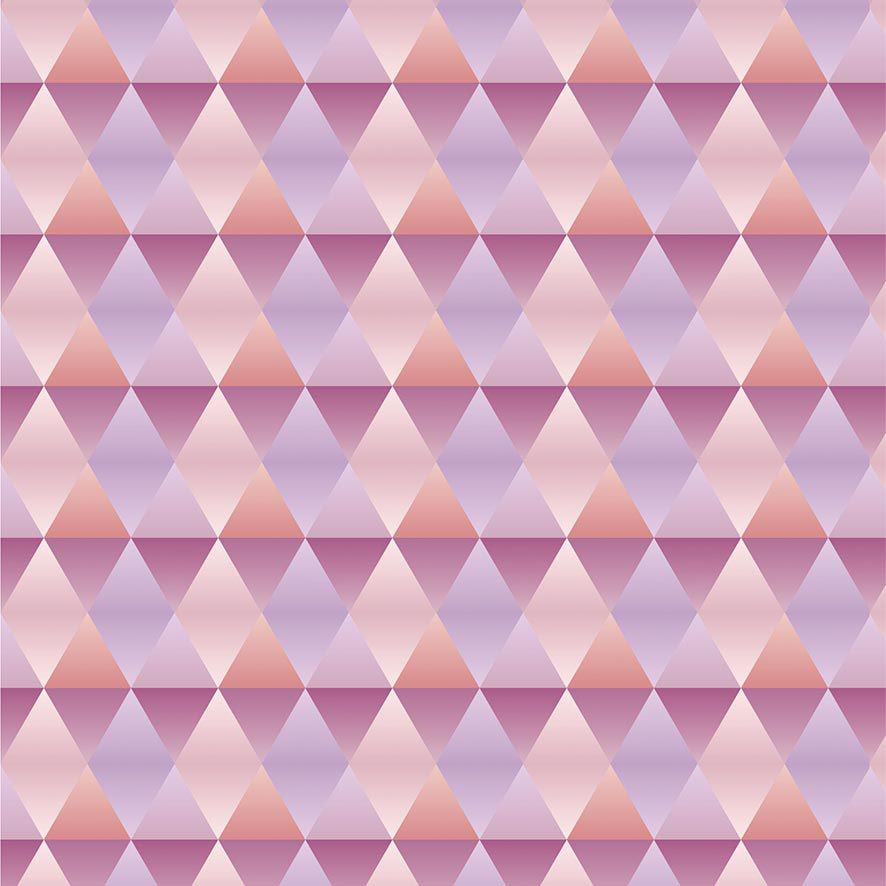 Papel de Parede Geométrico Degrade Efeito Metalico Adesivo P815