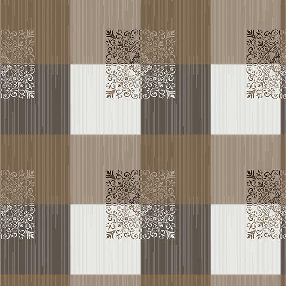 Papel de Parede Geométrico Quadrados Glamour Adesivo P170
