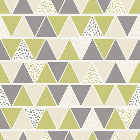 Papel de Parede Geométrico Triangulos Diversos Tons Adesivo P250
