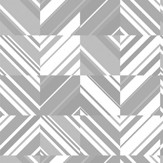Papel de Parede Geométrico Abstrato Diversos Tons Adesivo P223