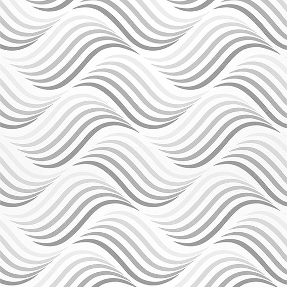 Papel de Parede Ondas Degrade Geométrico Adesivo P238