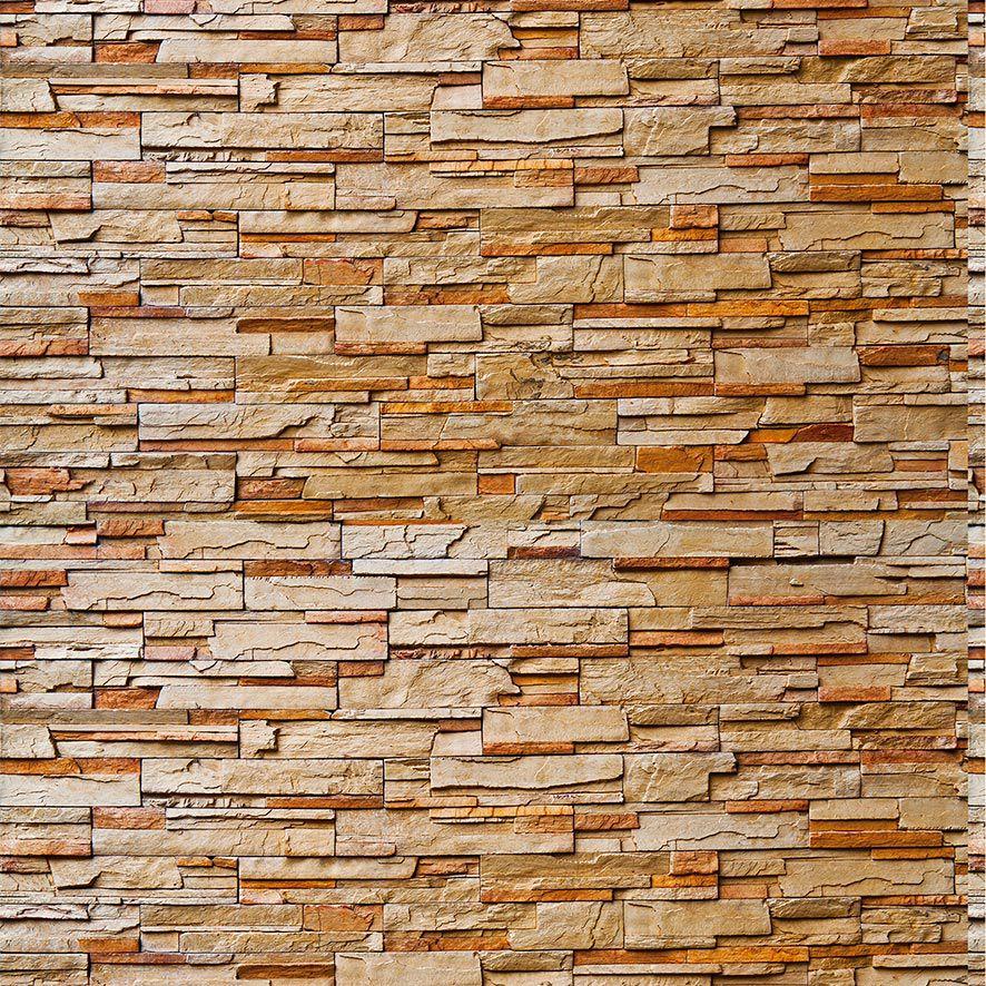 Papel de Parede Pedras Canjiquinhas 3D Adesivo P574