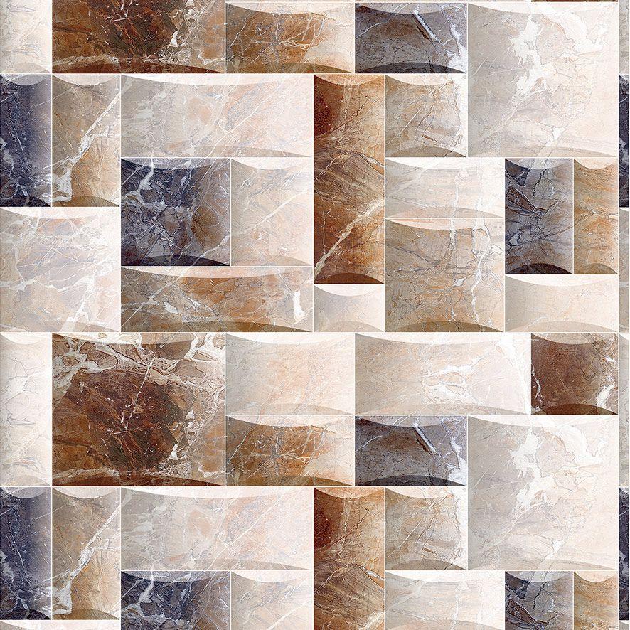 Papel de Parede Pedras de Mármore Diversos Tons Adesivo P568