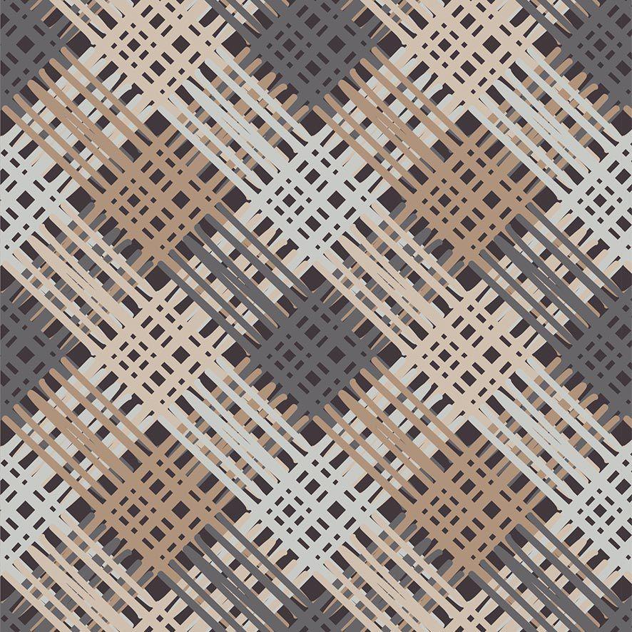 Papel de Parede Trançado Xadrez Geometrico Adesivo P713