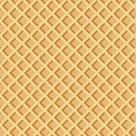 Papel de Parede Waffle Casquinha de Sorvete Adesivo P425