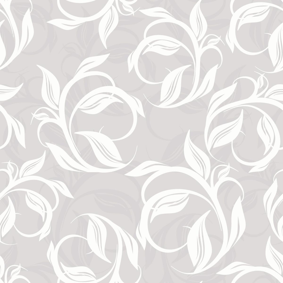 Papel de Parede Floral Galhos Folhas Adesivo