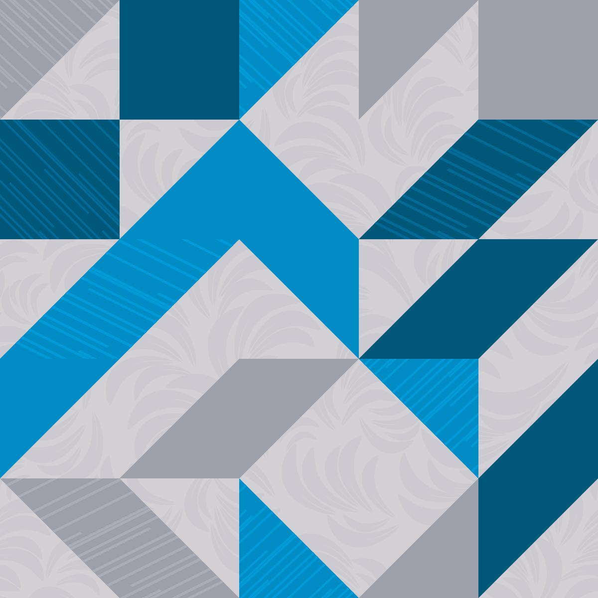 Papel de Parede Geométrico Abstrato Adesivo