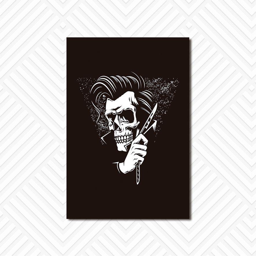 Poster Decorativo Barber Shop PL025