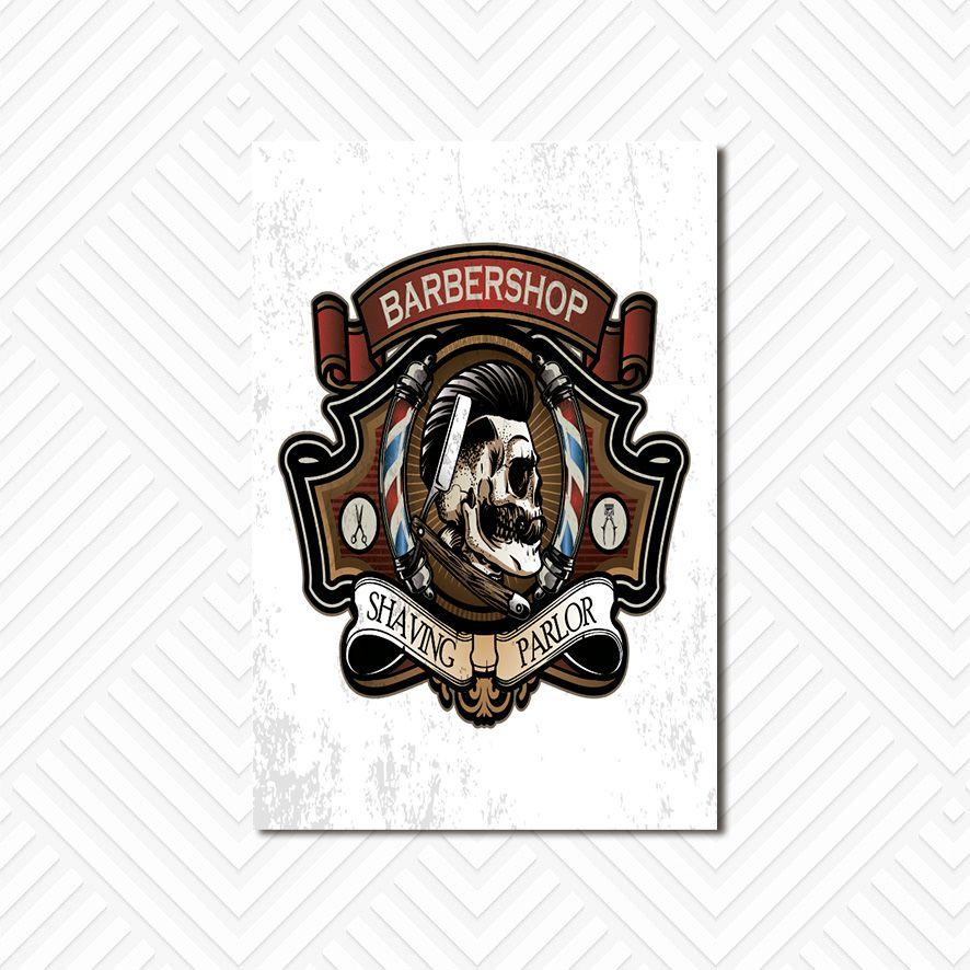 Poster Decorativo Barber Shop PL036