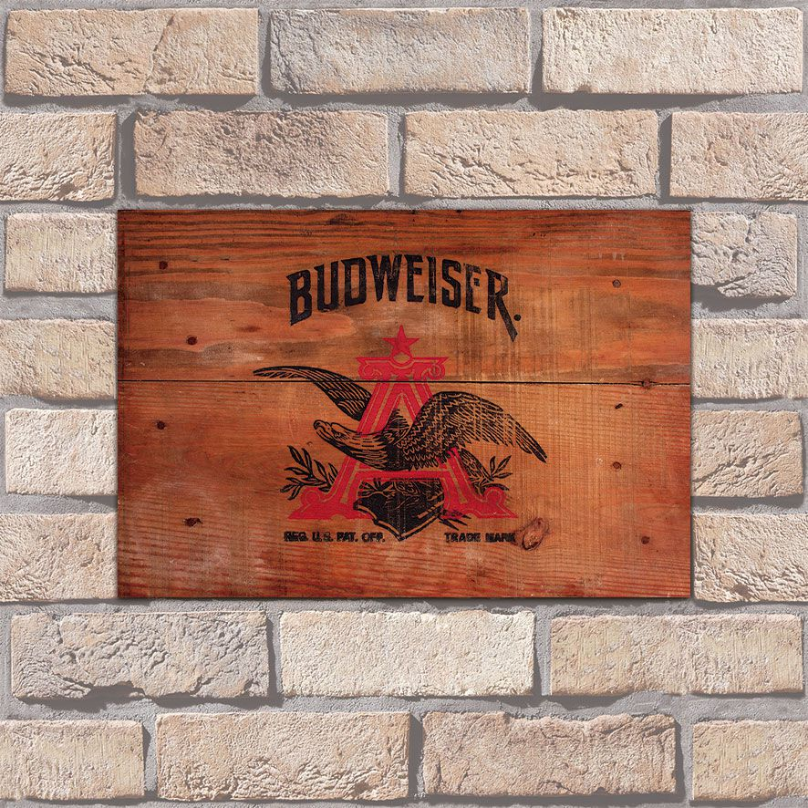 Poster Decorativo Budweiser PL001