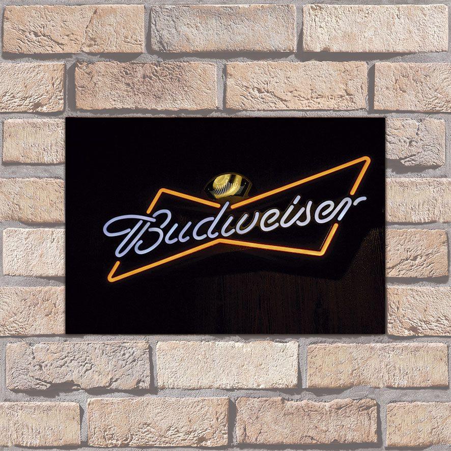 Poster Decorativo Budweiser PL002