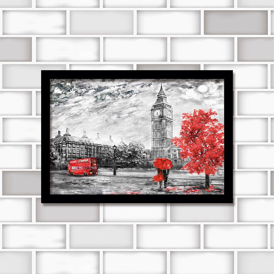 Poster Decorativo City PL422