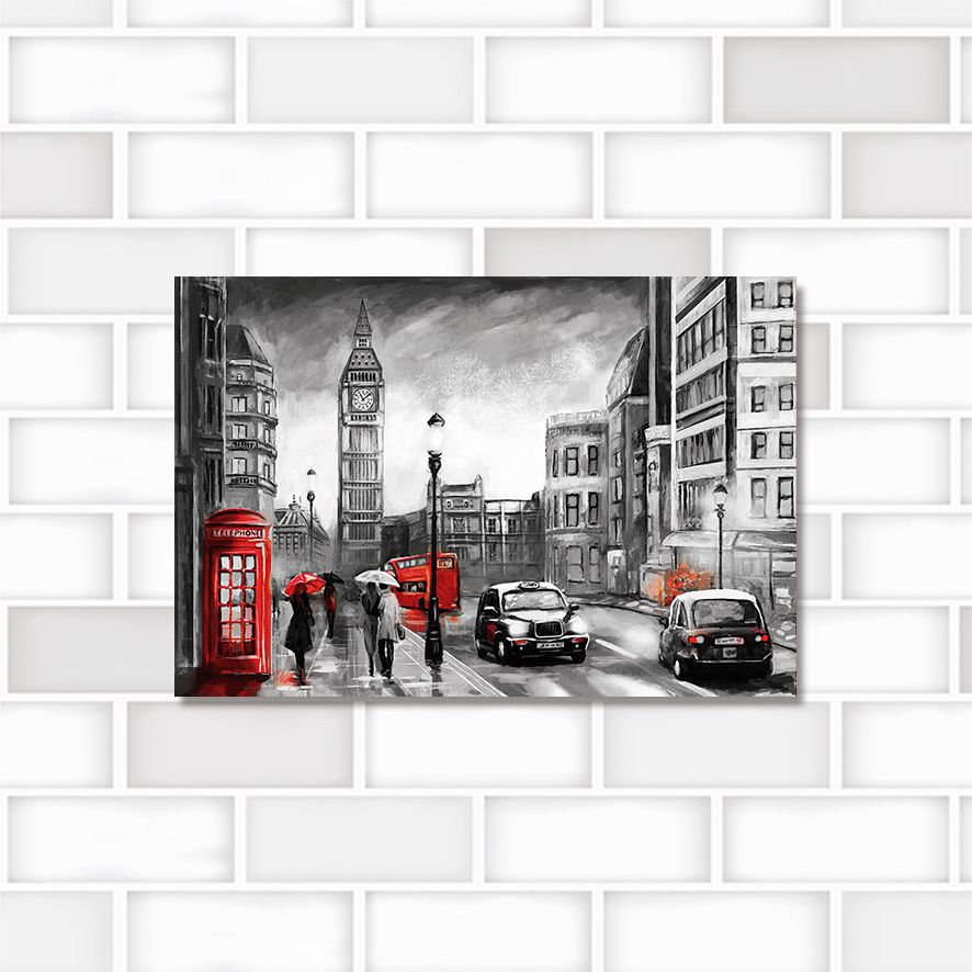 Poster Decorativo City PL432