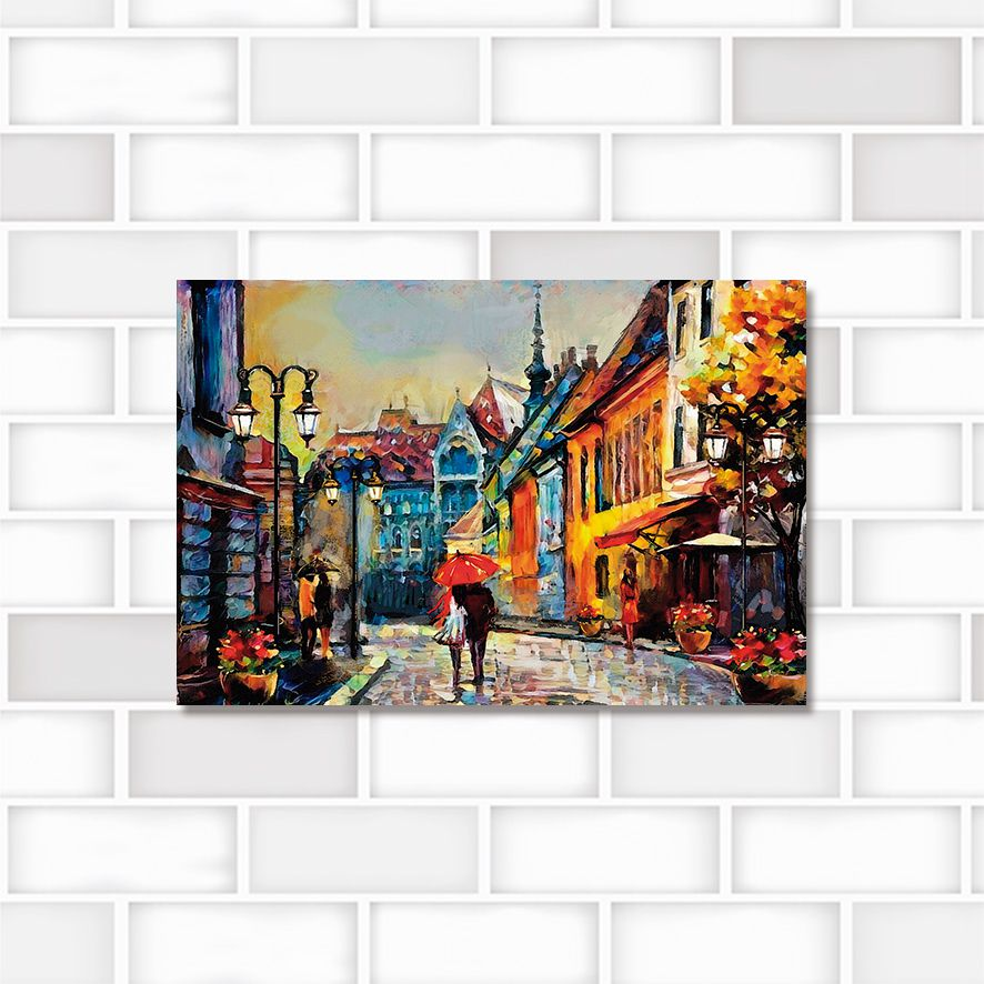 Poster Decorativo City PL435