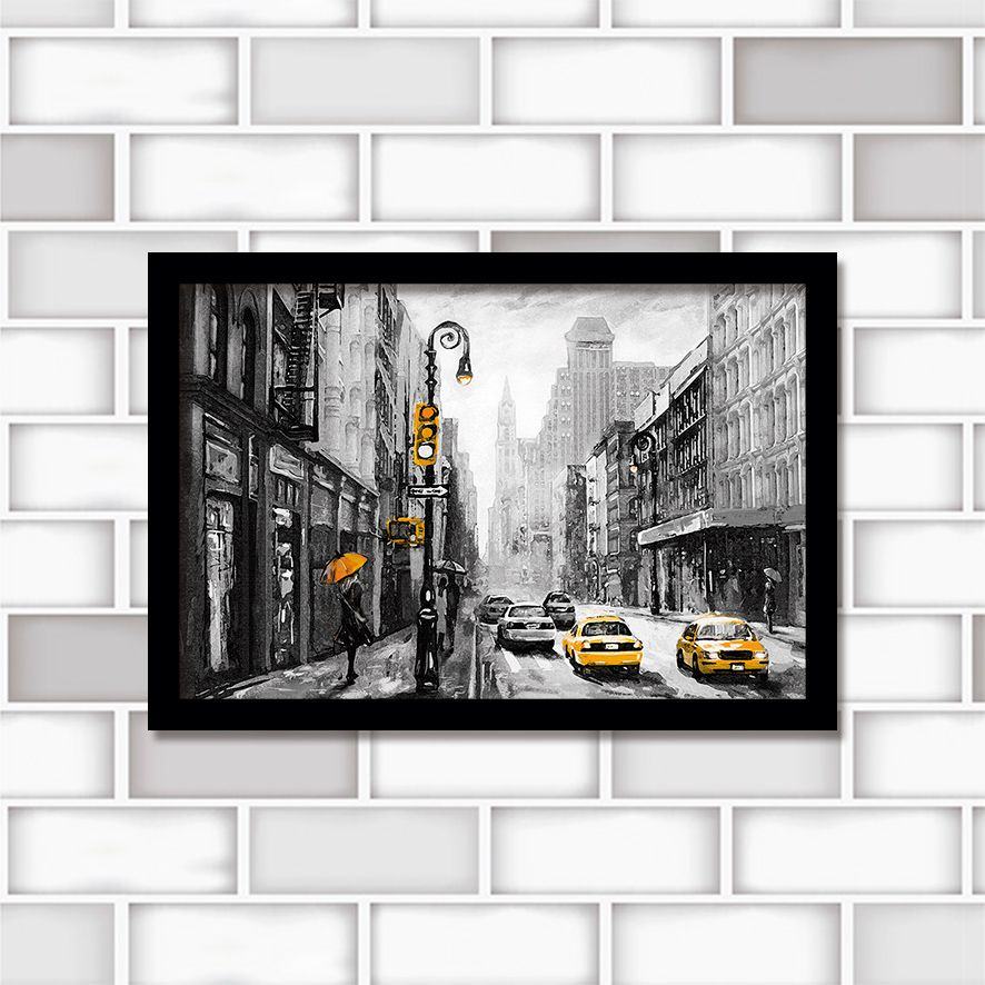 Poster Decorativo City PL439