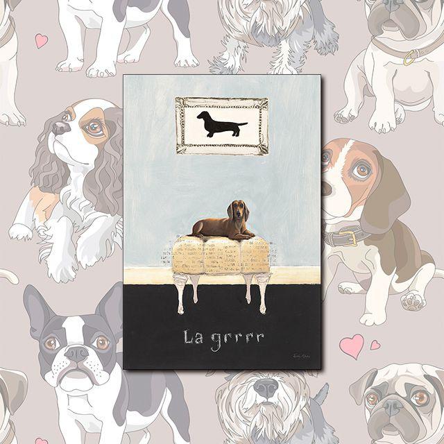 Poster Decorativo Dog Vintage PL353