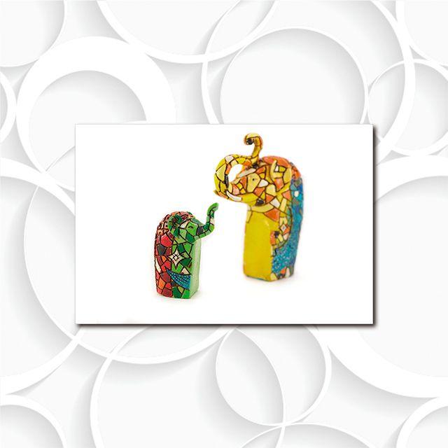 Poster Decorativo Elefante Indiano PL477