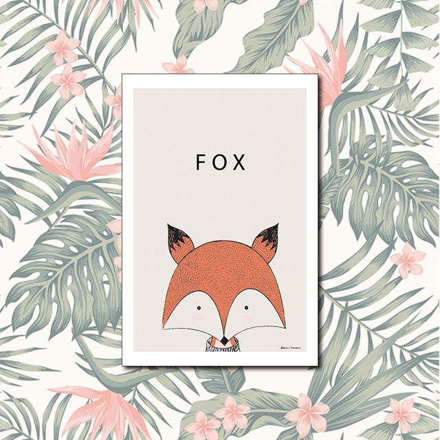 Poster Decorativo Fox PL311